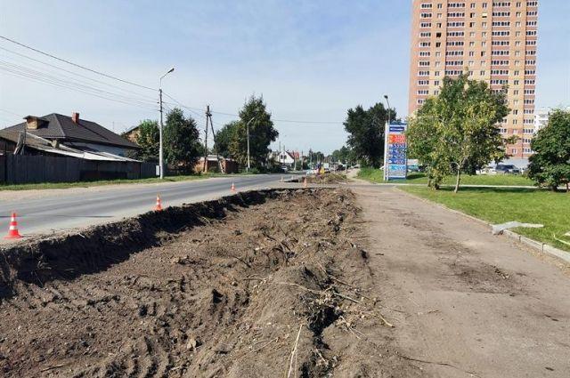Дополнительная полоса появиться на участке от ул. Шахтеров в сторону микрорайона «Покровский».