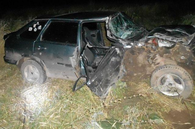 В Удмуртии пьяный водитель ВАЗа устроил ДТП с пострадавшим