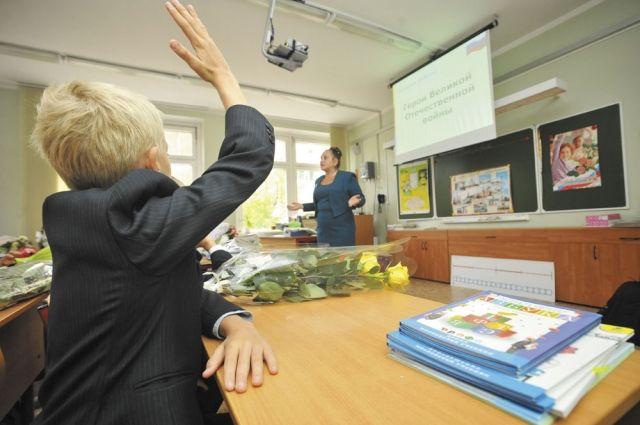 В школы Оренбуржья 1 сентября пойдут почти 27,5 тысяч первоклассников.