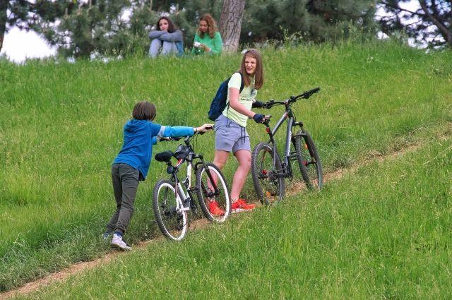 В Тюмени увеличилось число ДТП с участием детей на велосипедах и самокатах