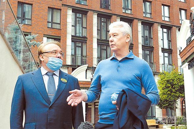 Мэр Москвы Сергей Собянин осмотрел, как идёт реорганизация бывшей промзоны «Братцево», расположенной на севере столицы.