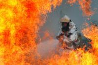 В Виннице произошел большой пожар на складе вторсырья