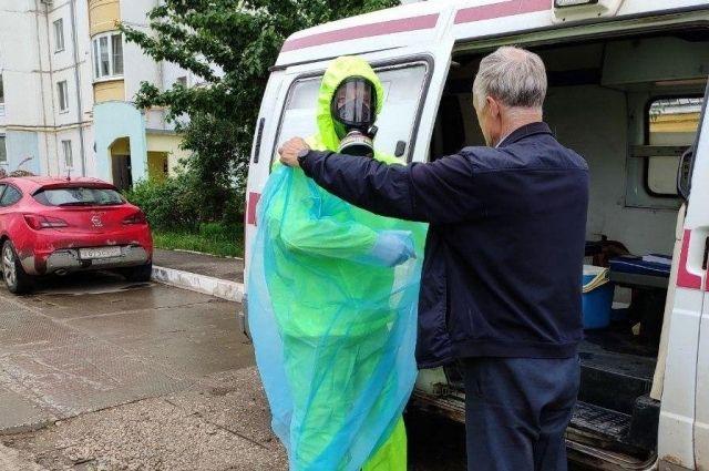 Экипировка от коронавируса не спасает от буйных пациентов