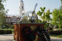 Памятник альпийским стрелкам в Россоши.