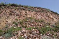 450 млн лет назад здесь извергалась магма.
