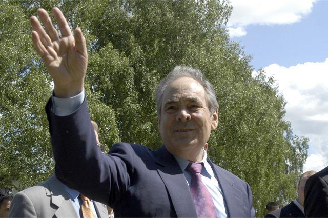 Экс-президент Татарстана Минтимер Шаймиев стоял у истоков партии «Единая Россия».