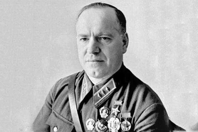 Герой Советского Союза комкор Г. К. Жуков, 1939 год.