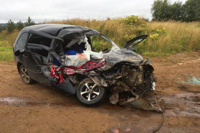 В Удмуртии в ДТП с грузовиком погибла 35-летняя пассажирка «Лады»