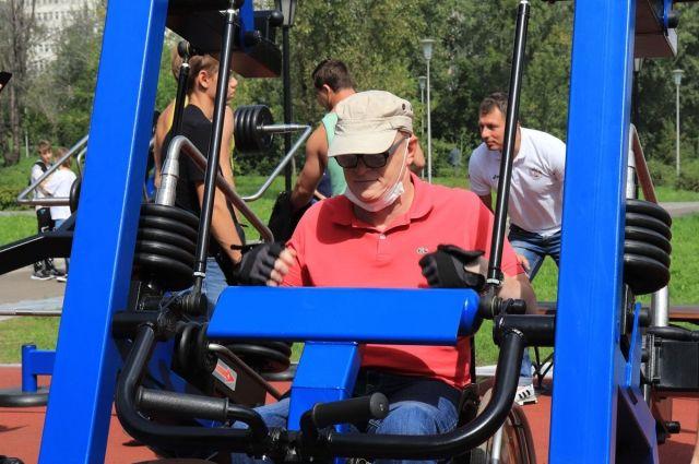 Спортивный комплекс в полной мере отвечает потребностям колясочников.