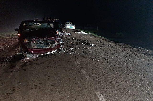 Водитель мопеда без прав погиб в ДТП с иномаркой в Башкирии