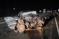 В Удмуртии в ДТП на трассе погибли водитель и 9-летний пассажир автомобиля