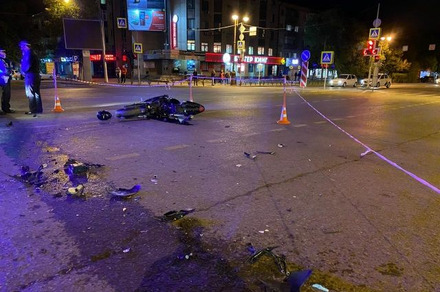 В Тюмени погиб мотоциклист, которого не пропустил водитель Opel