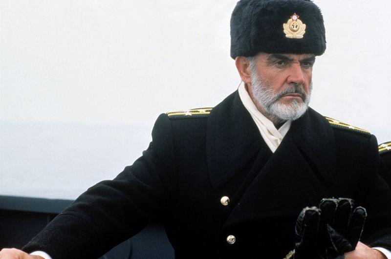 """«Охота за """"Красным Октябрём""""» (1990) — капитан Марко Рэмиус."""