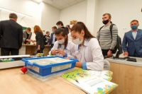 В школе создан ресурсный центр по инженерно-технологическому образованию.