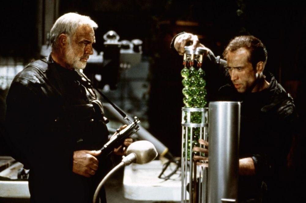 «Скала» (1996) — капитан Джон Патрик Мэйсон.