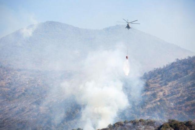 Площадь пожара в Анапе увеличилась до 126 гектаров, для его тушения задействована авиационная группировка МЧС.