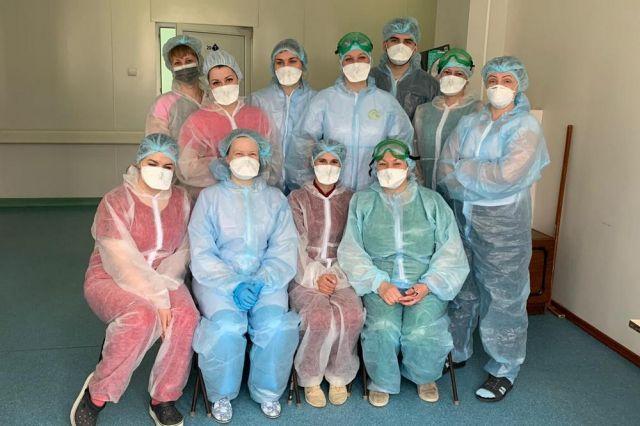 Любимых медсестёр пациенты узнают по глазам. Предоставлено ВКБ № 4.