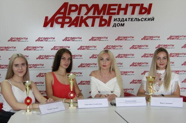 Полина Горелова, Анжелика Солобутова, Елена Гилёва и Вера Савченко.