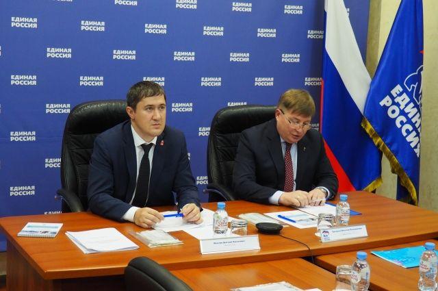 Дмитрий Махонин провёл встречу с активом местных отделений партии «Единая Россия».