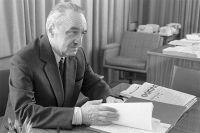 Член Президиума Верховного Совета СССР Анастас Иванович Микоян. 1972 г.