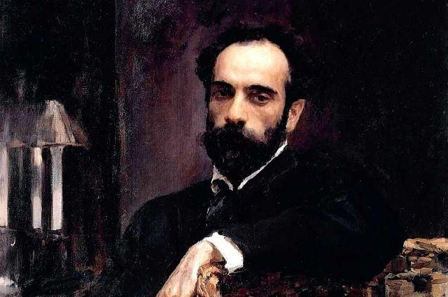 Портрет И. И. Левитана, Валентин Серов, (1893)