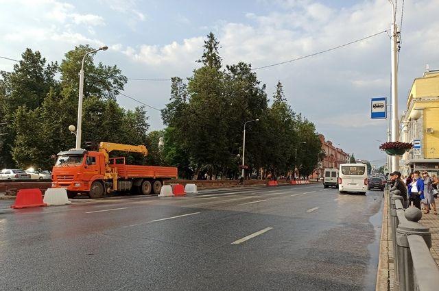 На Ленина в Уфе до 10 октября изменят движение пассажирского транспорта