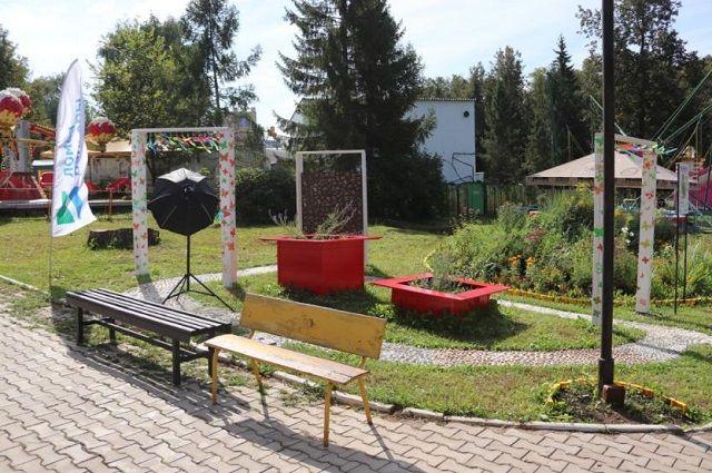 Второй по счёту тактильный мини-парк открылся в Уфе