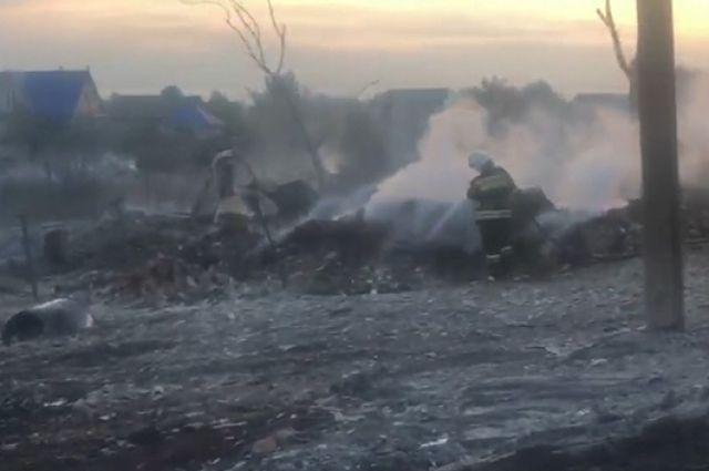 Сегодня в Колтубанке должны определить суммы ущерба по каждому пострадавшему от пожара дому.