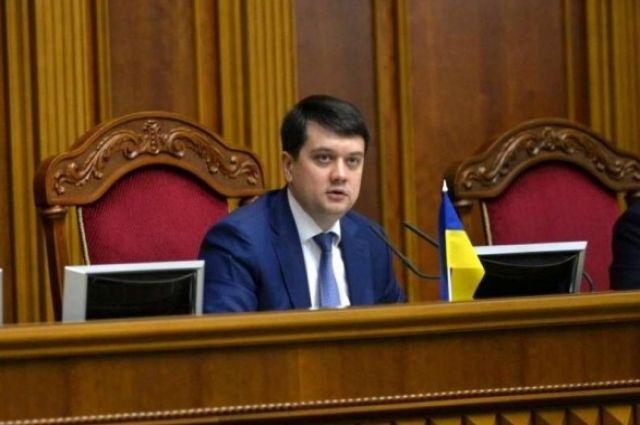 Спикер ВР рассказал о количестве депутатов, заболевших COVID-19