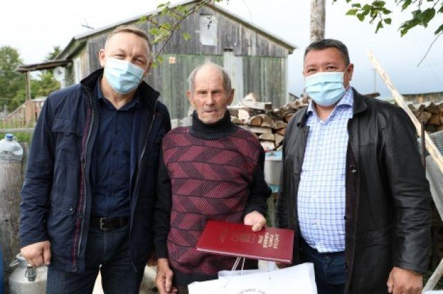 Ветеран из Шурышкарского района получил поздравление от Владимира Путина