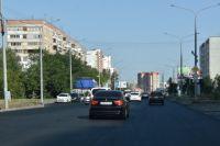 В Оренбурге ремонт дорог по нацпроекту  «Безопасные и качественные автомобильные дороги» выполнен на 80%.