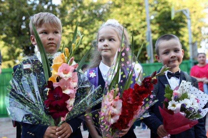 День знаний в московской школе «Марьина Роща имени Орлова».