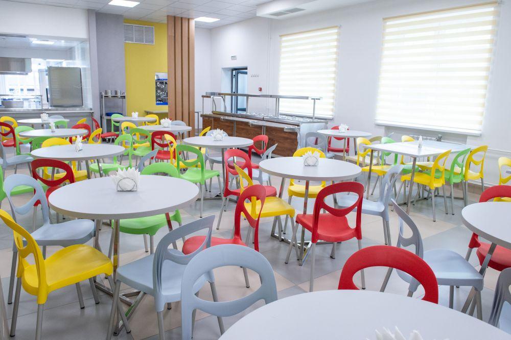 Открытие новой школы №52 в микрорайоне Казарово.