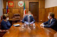 Глава региона обозначил новому министру главные задачи в системе здравоохранения.