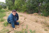 Селяне боятся, что новая плотина долго не простоит.