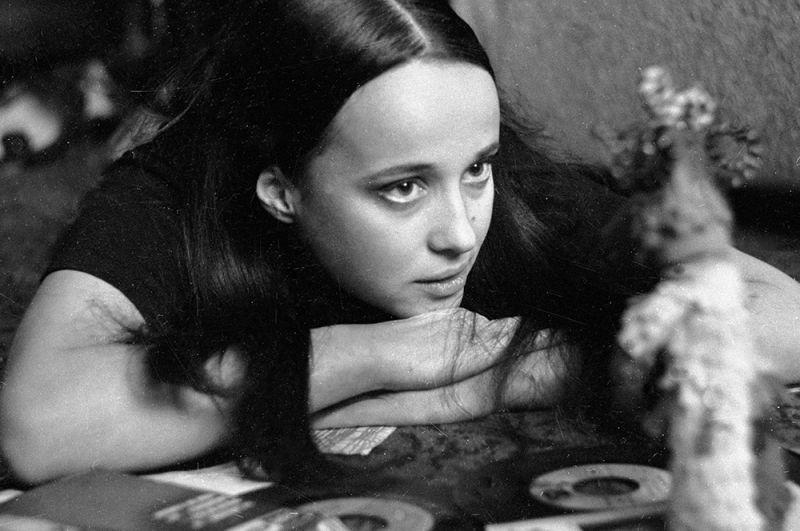 Актриса театра и кино Ирина Печерникова, 1976 год.