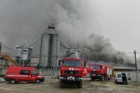 В Ивано-Франковской области произошел пожар на предприятии
