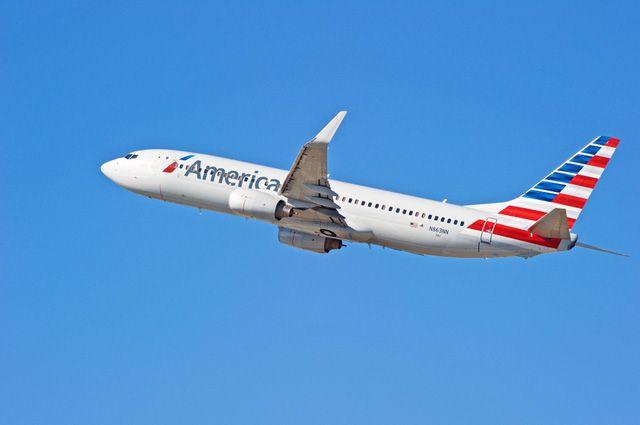 Самолет авиакомпании American Airlines.