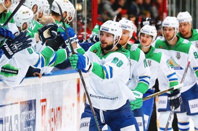 ХК «Салават Юлаев» проведёт первый матч нового сезона КХЛ
