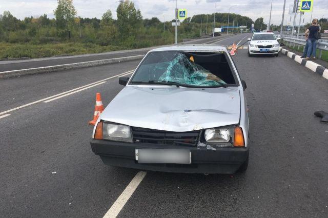 Авария произошла 2 сентября около 11:25 часов.