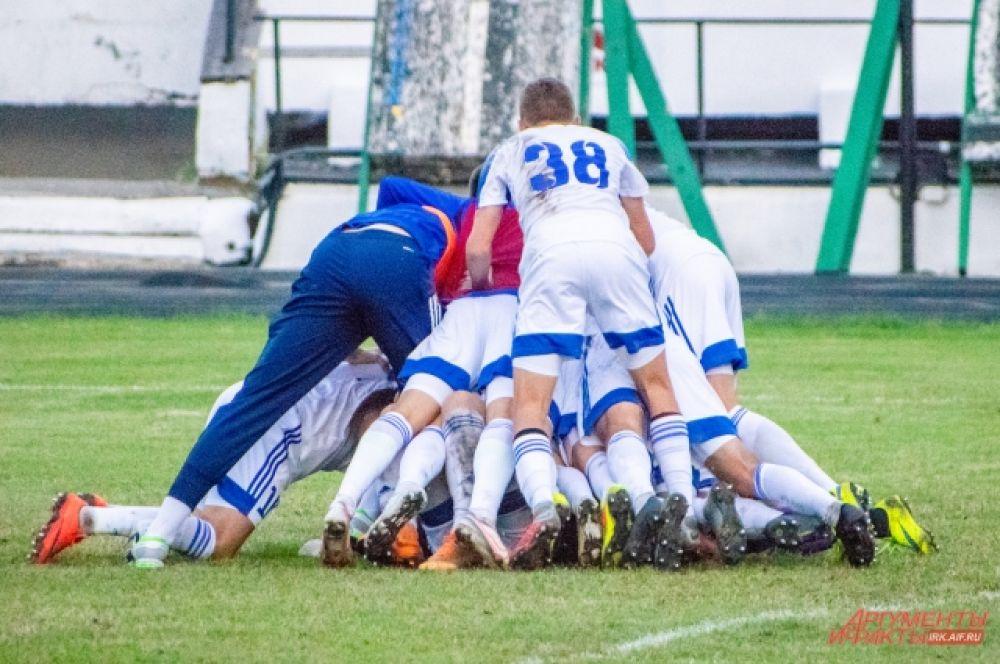 Теперь клуб проходит в элитный групповой этап Кубка России.
