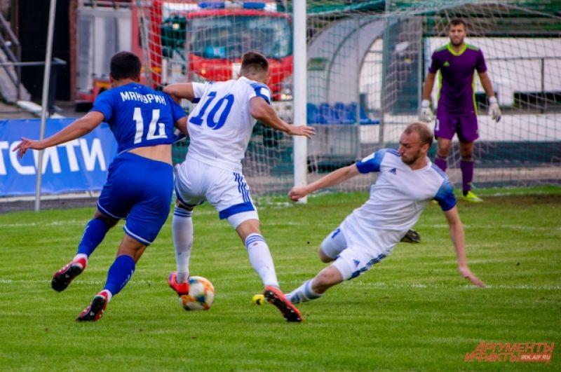 2 сентября на стадионе «Труд» в Иркутске прошёл матч 1/64 турнира «Бетсити Кубок России по футболу».