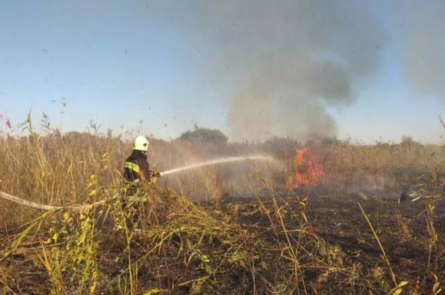 От пожара в Луганской области погиб украинский военный