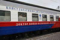 За время простоя поезд отремонтировали.