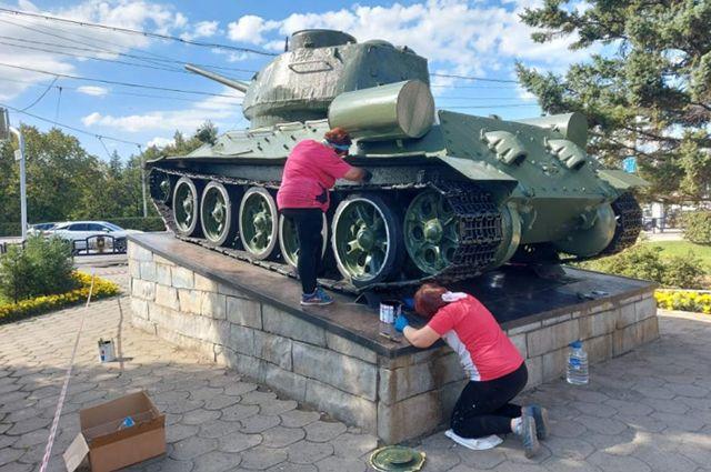 Реставрация танка
