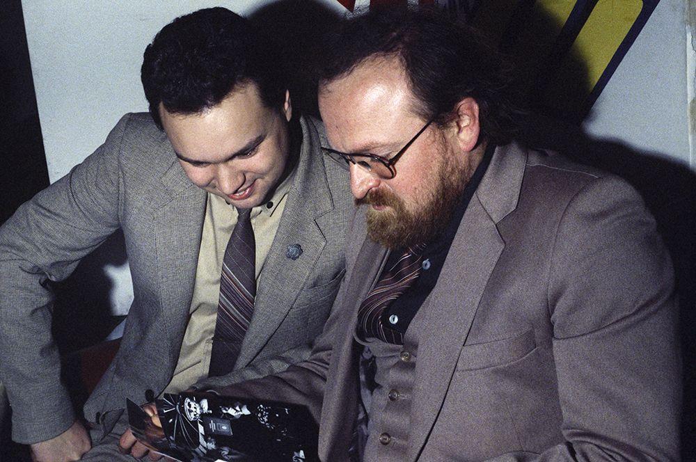 Знатоки Борис Еремин (слева) и Стоян Стоянов.