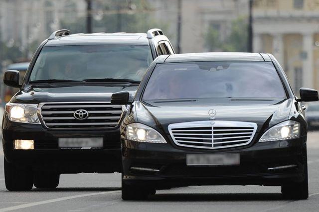 Региональные чиновники предпочитают дерзкие автомобили.