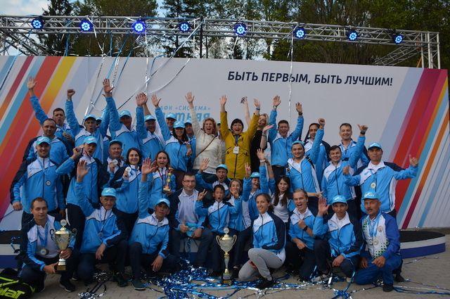 «БЭСК» стала пятикратным победителем спартакиады АФК «Система»