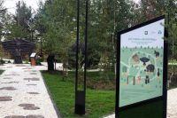 Вдеревне Русскинская Ханты-Мансийского автономного округа построен арт-парк «Этноград», нааллеях которого размещены скульптуры, изображающие героев легенд, созданных хантами— коренным населением региона.