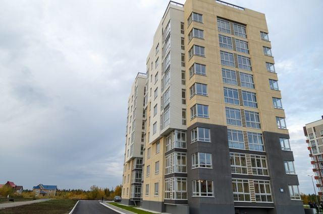 Это уже второй дом, построенный ЛУКОЙЛом в городе.